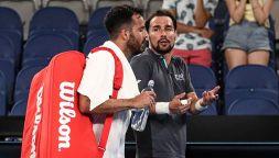 Tennis, Australian Open: Fognini provoca Caruso, rissa verbale