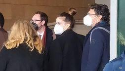 Processo Astori, Francesca Fioretti al Palazzo di giustizia