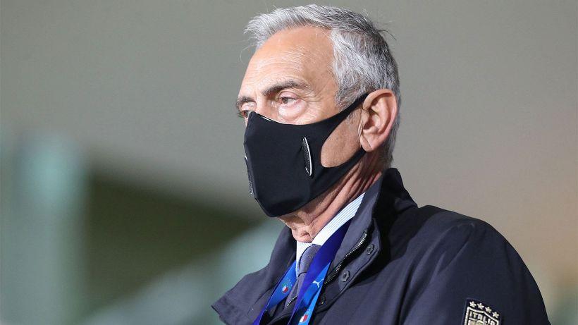 FIGC, il Presidente Gravina continua ad invocare la riapertura degli stadi