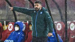 Coppa italia, Napoli: Gattuso non recupera Fabian Ruiz