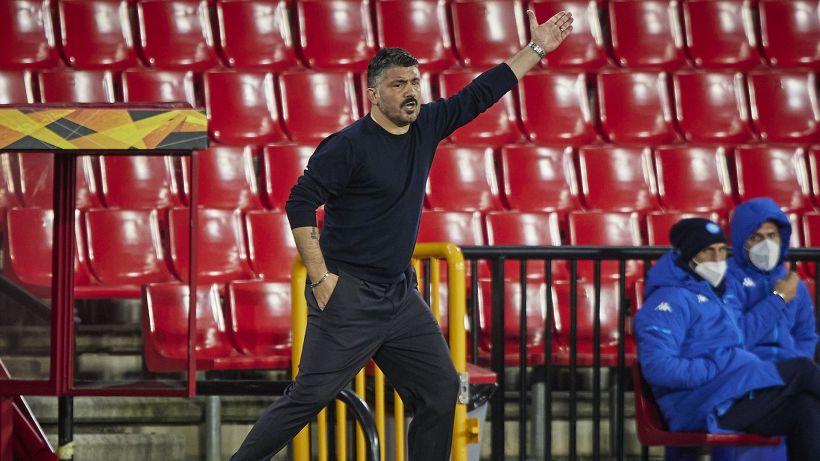 """Gattuso: """"Abbiamo dieci giocatori contati"""""""
