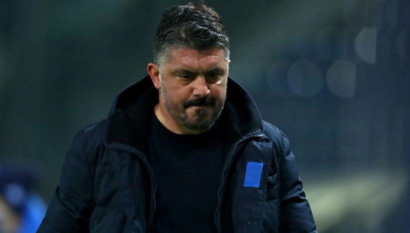 Napoli in crisi, rapporti tesi tra Rino Gattuso e De Laurentiis