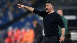 Serie A, Napoli-Benevento: i convocati di Gennaro Gattuso