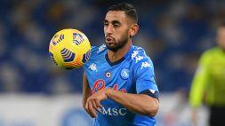 """Il Napoli sull'infortunio al ginocchio di Ghoulam: """"Esito del controllo positivo"""""""