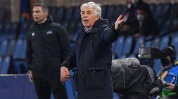Champions, Gian Piero Gasperini è una furia contro l'arbitro