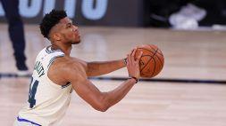 NBA, Antetokounmpo spazza via i Pelicans