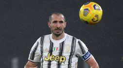 Juventus, Chiellini: escluse lesioni muscolari al polpaccio