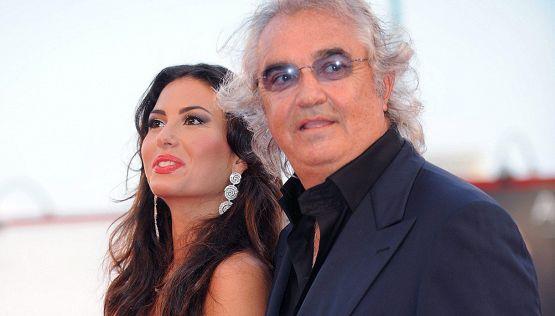 Flavio Briatore in trasferta, Elisabetta Gregoraci vede Benetton