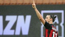 Serie A, Milan-Crotone: i gesti di Ibra