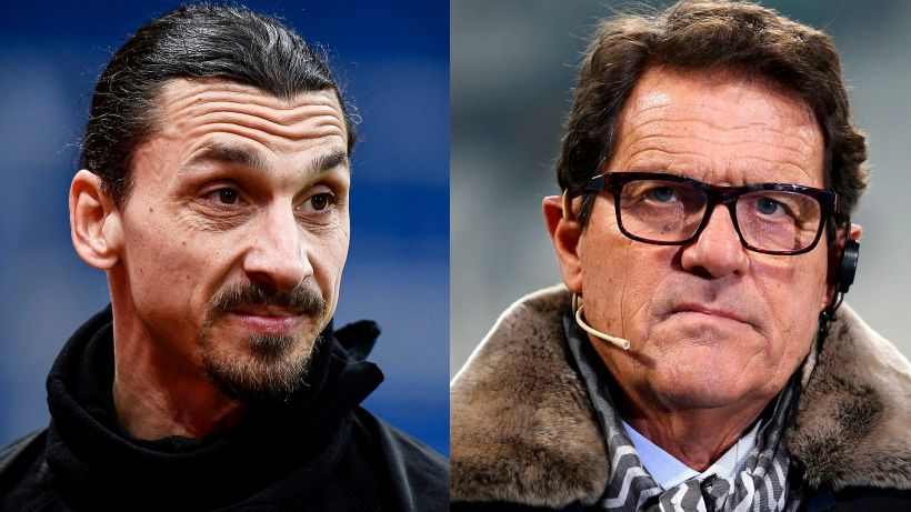 Milan in difficoltà, Fabio Capello attacca Zlatan Ibrahimovic