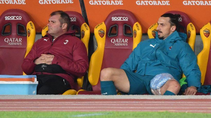 Milan, infortuni a Calhanoglu, Rebic e Ibrahimovic