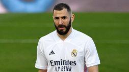 Atalanta-Real Madrid: anche Benzema in dubbio