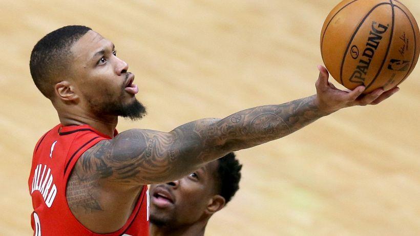 NBA: super Lillard trascina Portland, vince ancora Utah