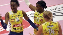 Volley, l'Imoco alla ricerca della vittoria consecutiva numero 61