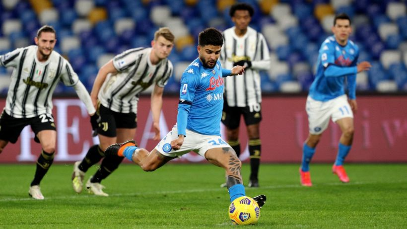 Napoli-Juventus 1-0: Insigne rompe la maledizione dal dischetto