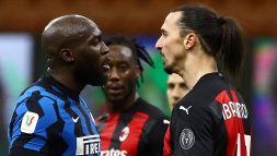 Scontro Ibra - Lukaku: lo svedese sentito dalla Procura FIGC