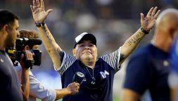 Diego Armando Maradona, l'omaggio più prezioso per il campione