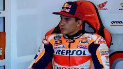 MotoGp, Marc Marquez tiene in ansia i fan