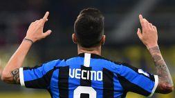 Inter-Juventus, c'è anche Vecino: prima convocazione stagionale