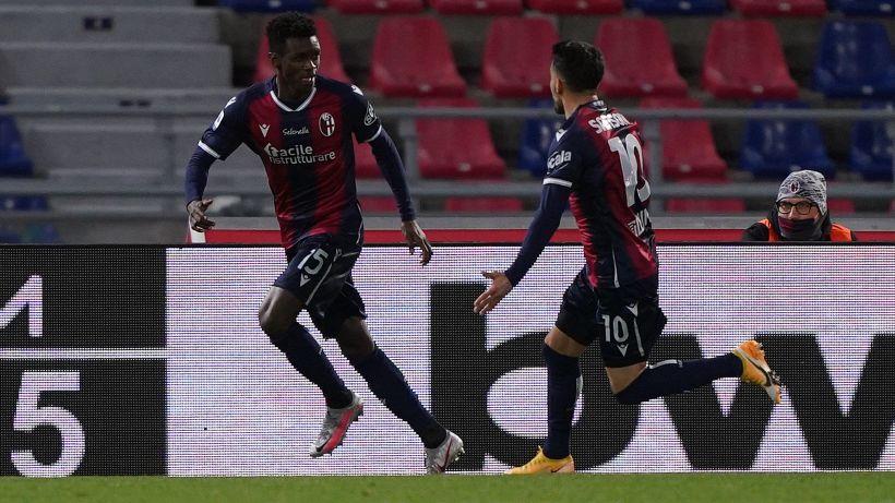 Bologna-Lazio 2-0: Immobile sbaglia, Mbaye e Sansone no. Le pagelle