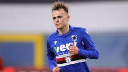 Sampdoria, il talento Mikkel Damsgaard si racconta
