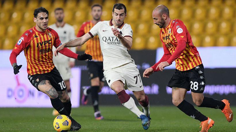 Benevento-Roma 0-0: i giallorossi non sfondano, il Var salva Inzaghi nel recupero. Le pagelle