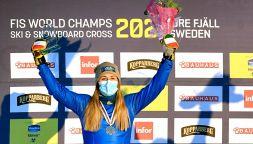 Moioli, che argento ai Mondiali! Dedica speciale a Sofia Goggia
