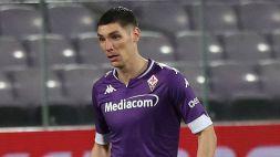 Squalifica ridotta: la Fiorentina con Milenkovic contro la Sampdoria