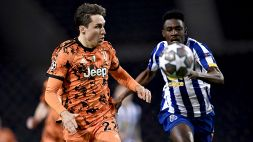 Chiesa limita i danni, una brutta Juventus battuta 2-1 dal Porto