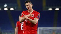 Champions League, Robert Lewandowski 3° All-Time per gol segnati