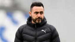 Serie A, l'attacco di De Zerbi al Milan e alla Superlega