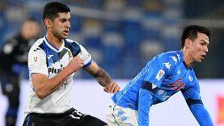 Atalanta-Napoli, Romero non ci sarà per squalifica