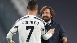 Juve, Andrea Pirlo spiega la svolta. Il messaggio di Cristiano Ronaldo