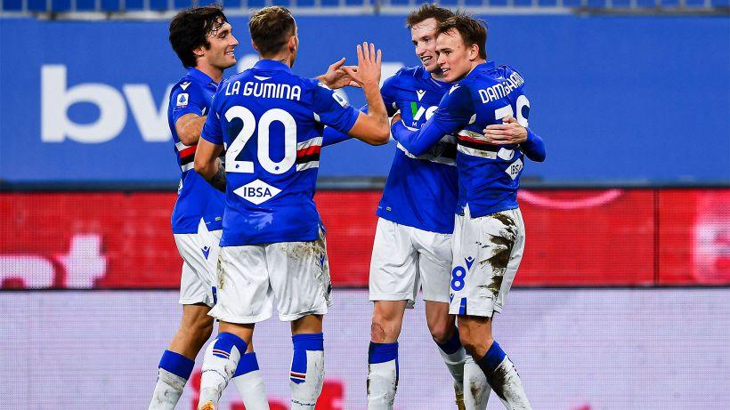 Serie A, Sampdoria-Atalanta: le formazioni ufficiali