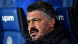 """Tifosi infuriati per la mossa di Gattuso: """"Ha raggiunto il colmo"""""""