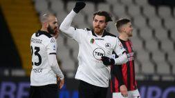Serie A: Spezia-Milan 2-0, le foto