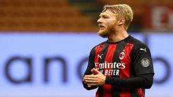 """Kjaer scuote il Milan: """"Momento difficile, ma dobbiamo reagire"""""""