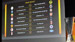 Il tabellone degli ottavi di Europa League 2020/2021