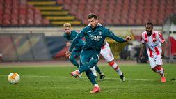Milan raggiunto nel recupero, successo facile per la Roma
