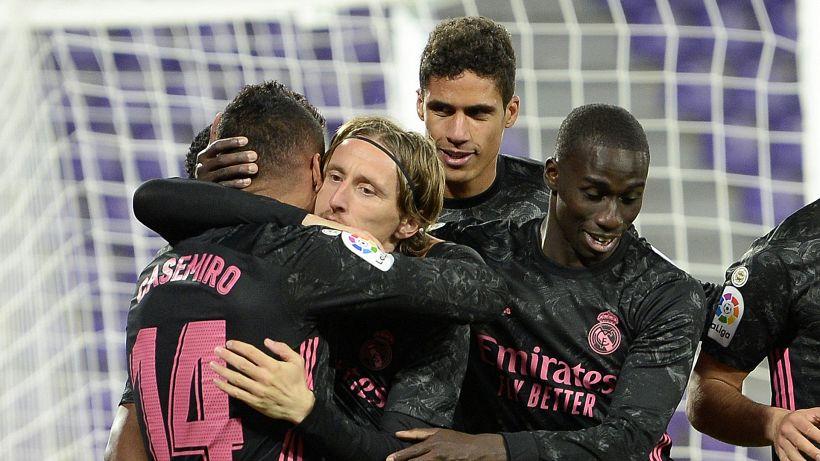 Al Real contro il Valladolid basta Casemiro, Atletico a -3