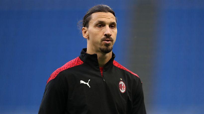 Milan: Ibrahimovic si allenerà da solo a Sanremo
