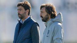 Juventus, pioggia di critiche per Pirlo: i piani di Andrea Agnelli
