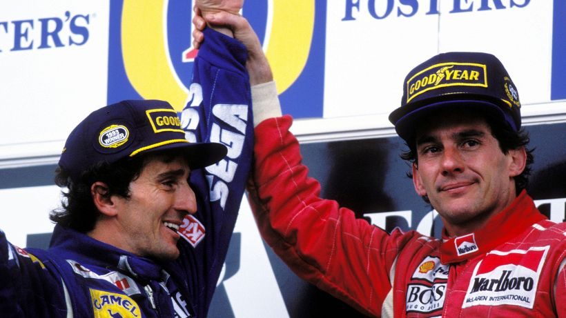 1993, Alain Prost vince il Mondiale e fa pace con Senna