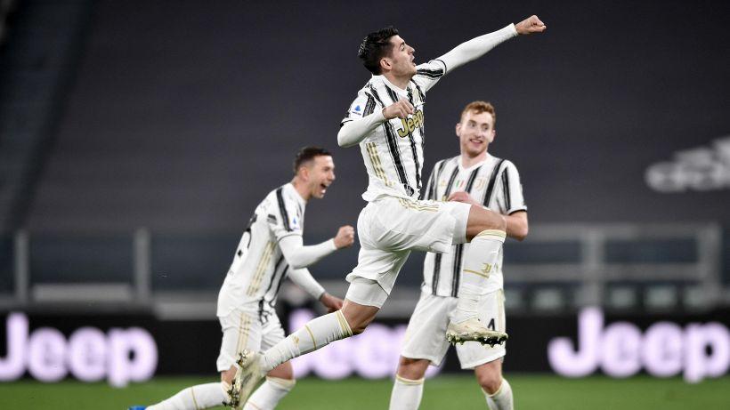 Juventus, basta mezz'ora: si sveglia Morata, Spezia battuto 3-0
