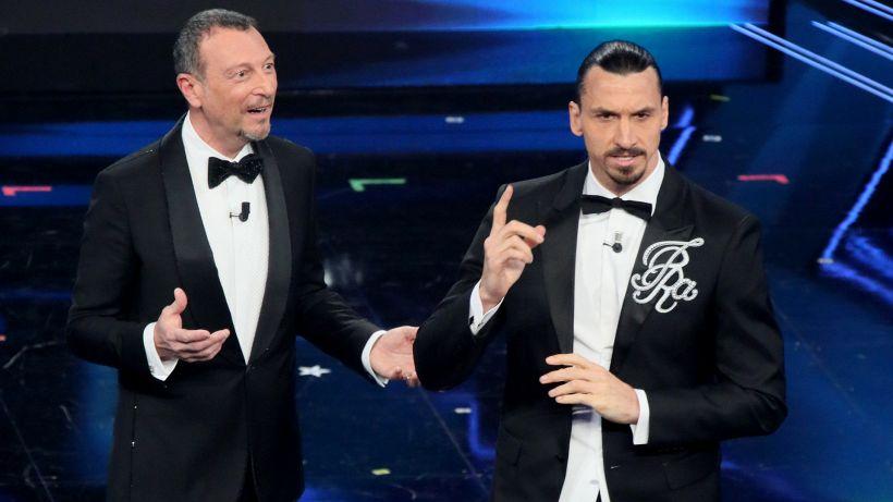 """Ibrahimovic a Sanremo: """"E' il Festival di Zlatan"""""""