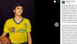 Il volley italiano è in lutto: scomparso il mito Andrea Nannini