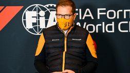 F1: Seidl carica la McLaren in vista del primo GP