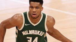 NBA, Antetokounmpo trascina i Bucks. Nets ai playoff