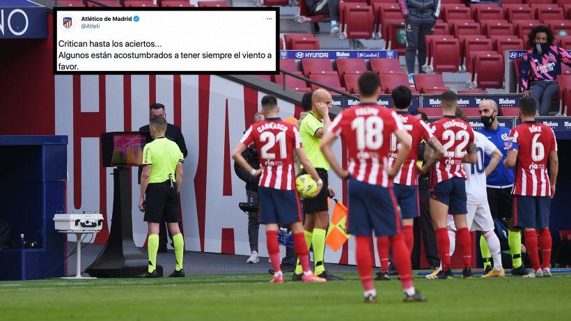"""L'Atletico contro il Real: """"Abituati ad avere il vento a favore"""""""