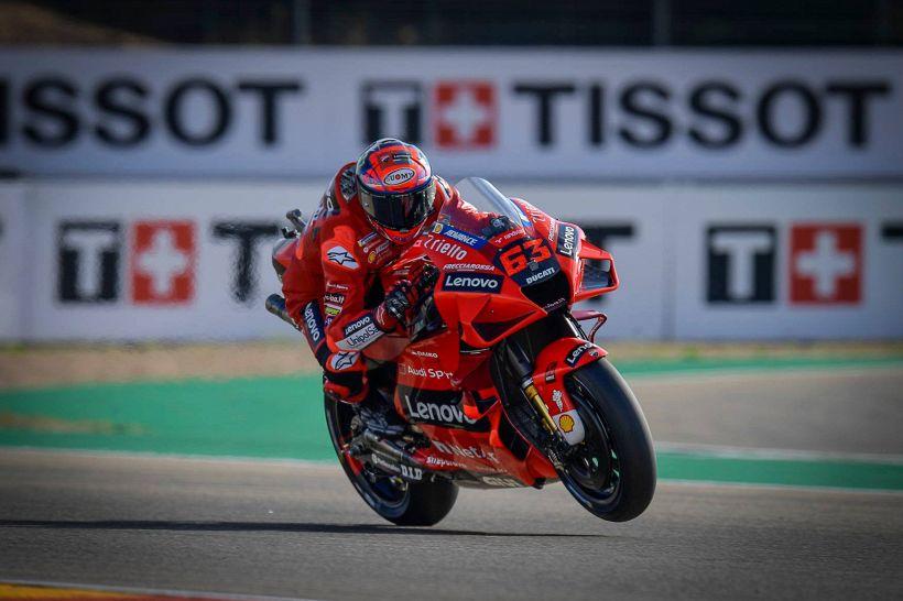 MotoGp Aragon; Bagnaia vince all'ultima staccata contro Marquez